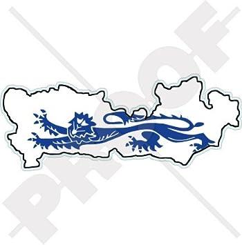 Amazon Com Berkshire County Map Flag England Uk Britain 5 9 150mm