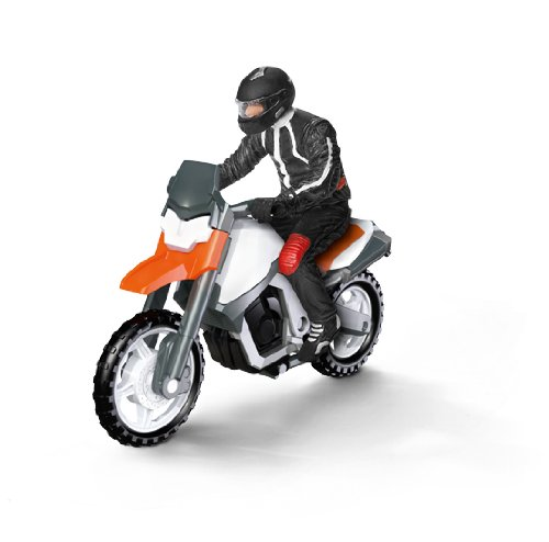 Schleich Motorcycle with Driver by Schleich