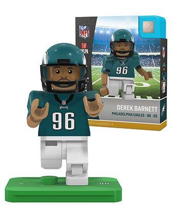 NFL Philadelphia Eagles Sports Fan Bobble Head Toy Figures, Green Grey/White, One Size