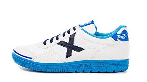 Munich G-3, blanc/bleu, taille 43