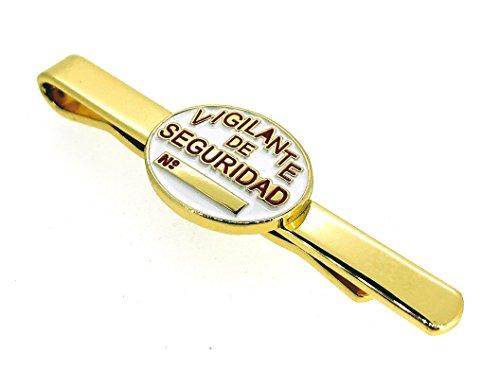 Pasador de Corbata de Placa de Vigilante de Seguridad 1