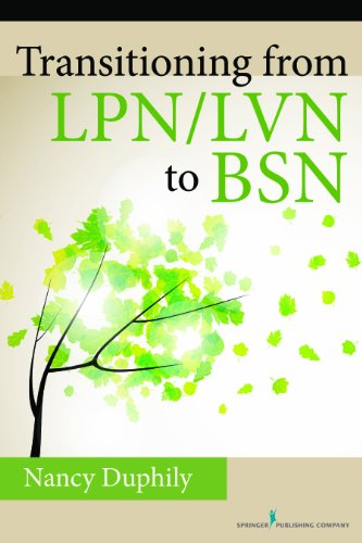 Transitioning From LPN/LVN to BSN Pdf