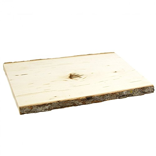 Rectangle Reversible Wood Slab Size: 0.5