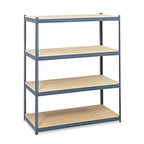 Safco 5260 Steel Pack Archival Shelving 69w x 33d x 84h Gray