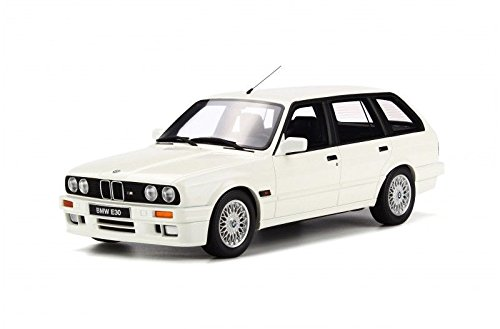 1991 BMW E30 Touring Wagon M Pack Alpine White Limited Edition to 2000pcs 1/18 Model Car by Otto Mobile (1991 Wagon)
