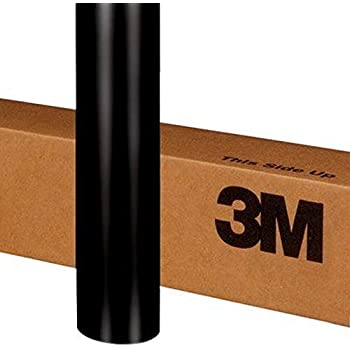 3M 2080 S12 SATIN BLACK 5ft x 1ft (5 sq/ft) Car Wrap Vinyl Film