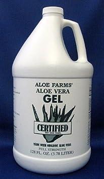Aloe Farms Aloe Vera Gel Organic, 128-Ounce