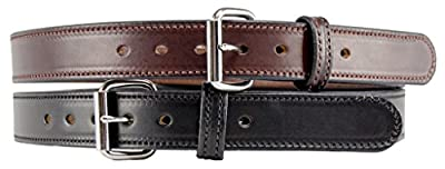 The Ultimate Concealed Carry CCW Leather Gun Belt - 14 ounce 1 1/2 inch Premium Full Grain Leather Belt - Handmade in the USA!