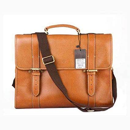 8a3edcece8 Mulberry Bag Walter Briefcase Natural Leather Oak  Amazon.co.uk  Kitchen    Home