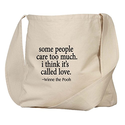 Some People Care I Think It'S Called Love Organic Cotton Canvas Market - Some People Forget You Never