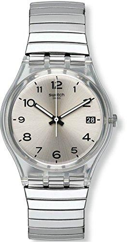 SWATCH watch GENT SILVERALL S GM416B