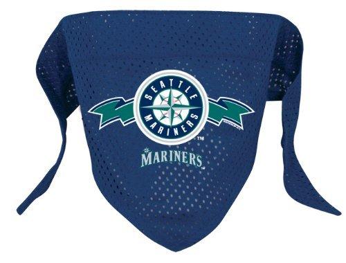 Hunter Seattle Mariners Pet Dog Baseball Jersey Bandana M/L
