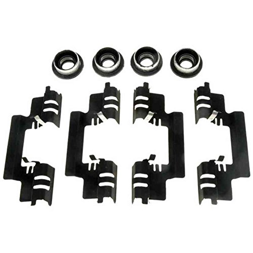 ACDelco 18K2003A Professional Rear Disc Brake Caliper Hardware Kit with Clips and Bushings