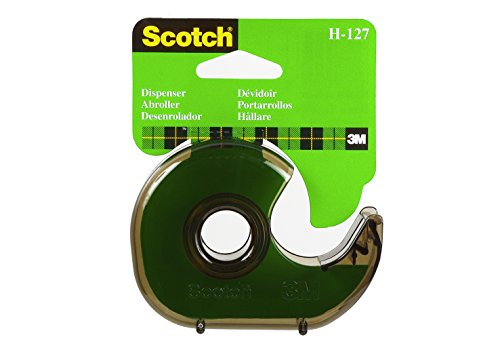 Scotch Hand Tape Dispenser H-127 (Color may vary) (Plastic Tape Dispenser)