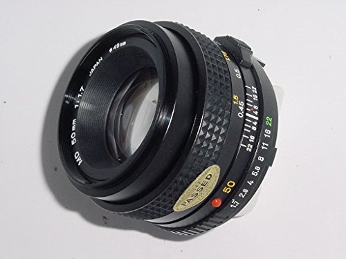 Minolta MD 50mm 1:1.7 Made In Japan Minolta Mount ()