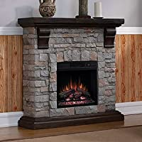 ClassicFlame Pioneer Stone Electric Fire...