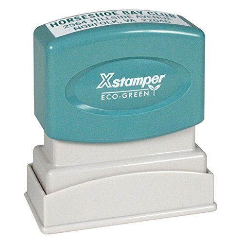 Xstamper N10 Custom Rubber Stamp