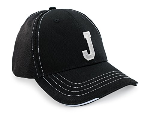 J Negro Ineinander Carta Gorro Gorra a de Caps Mujer Béisbol béisbol Unisex de Deporte Breathable acceda Z Hombre FqwvS4xT1