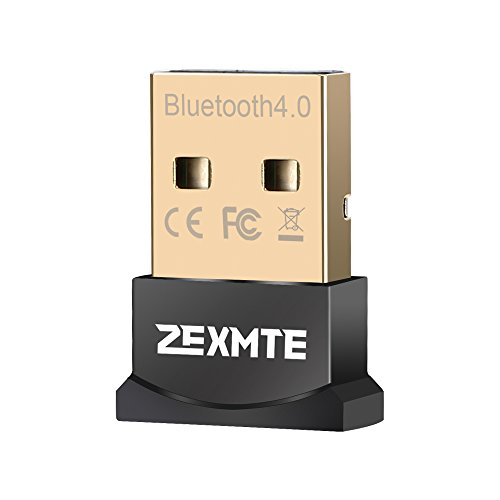 USB Bluetooth adpater for PC Low Energy Wireless Bluetooth Dongle for Desktop Support Windows 10/8/7/Vista/XP [1 Year Warranty]