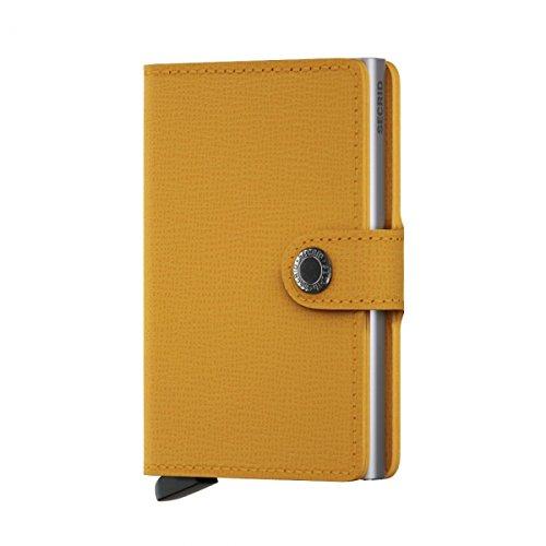(Secrid Mini Wallet Leather Amber Crisple)