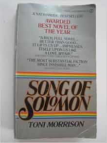 song of solomon toni morrison pdf