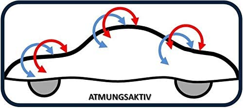 MyCarCover Autoplane passend f/ür BMW Z4 Roadster E89 Indoor ECO Abdeckplane Autogarage Schmutzabweisend f/ür Kfz Pkw Autoschutzdecke