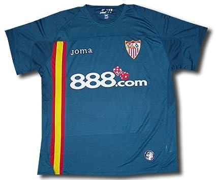Joma Sevilla F.C. - Camiseta de fútbol UEFA (2ª equipación), 2009, XL: Amazon.es: Ropa y accesorios