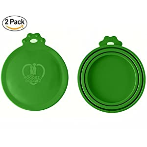 CAN COVER FOR PET FOOD – Pack of Two – FDA Approved Silicone Lids For Cat & Dog Food – Food Covers Seals the Can to… Click on image for further info.