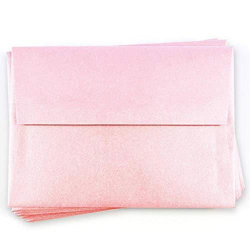 (A7 Stardream Rose Quartz Envelopes - Straight Flap, 81T, 25 Pack)