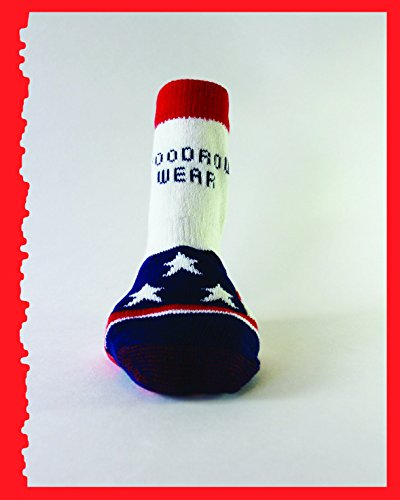 Woodrow Wear, Power Paws Original, American Flag, XXS, Fits to 12 pounds by Woodrow Wear