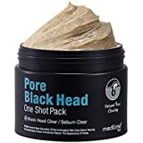 Meditime neo Pore Blackhead One Shot Pack, Blackhead Deep Cleansing, Blackhead Remover Bentonite, Kaolin Clay Facial Mask wit