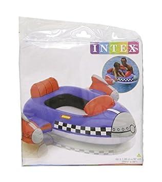 Intex Inflable Infantil / Niños Piscina Cruiser Flotador - Coche De Bomberos, Cohete o Shark - Infantil, Cohete: Amazon.es: Deportes y aire libre