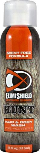 - Elimishield HUNT Scent Eliminating Hair & Body Wash for Hunters, 16 oz