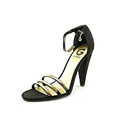 G by GUESS Women's Day Dream 2 Black Suede 8.5 M