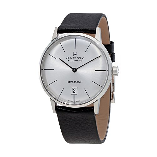 Hamilton-Intra-Matic-Silver-Dial-Leather-Mens-Watch-H38455751