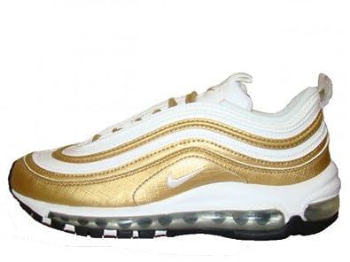 Nike Air Max 97 GG Sneaker RARITÄT weiß/gold, Schuhgröße:EUR 38.5 ...