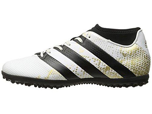 復活ナース母音adidas ACE 16.3 Primemesh TF (White/Metallic Gold/Black)/サッカーシューズ ACE 16.3 Primemesh ターフ用 (9.5 US size)