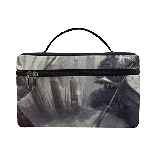 (The Mysterious Ninja Holds A Knife In His Hand Pattern Lunch Box Tote Bag Lunch Holder Insulated Lunch Cooler Bag For)