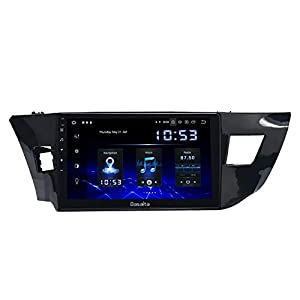 """Dasaita 10.2"""" Android 10.0 Head Unit with Carplay for Toyota Corolla 2014 2015 2016 2017 2018 Car Stereo Touch Screen 1280x720 Support GPS Navigation Bluetooth Hands-Free Calling WiFi"""