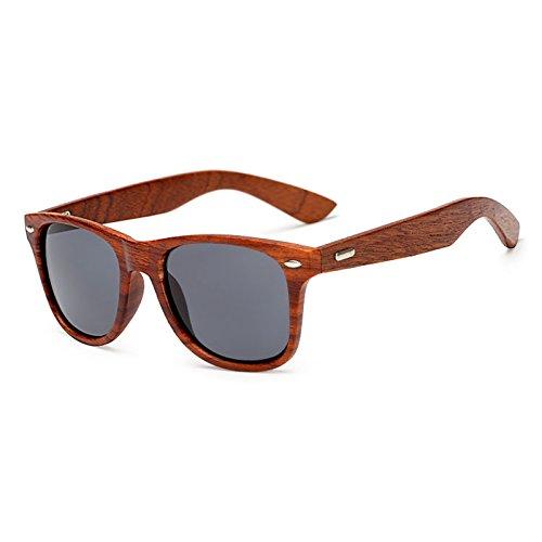 cbff14fcdb4e49 BuyWorld Handmade Wood Sunglasses Men Women Square Sunglasses for Men Women  Mirror Wooden Sun Glasses Retro de sol Masculino 2017  Amazon.in  Clothing    ...