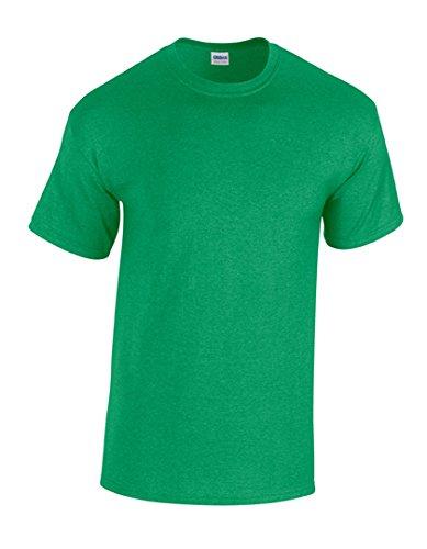 Gildan Heavy Cotton™ 5.3 oz. T-Shirt L ANTIQUE IRISH GREEN (Home L/s Shirt)