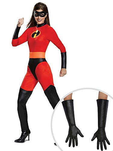 Mrs Incredible Costume Kit Classic Adult L with Gloves