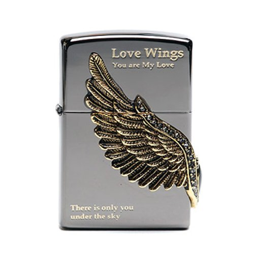 Zippo Love Wings Lighter Made in USA / GENUINE and ORIGINAL Packing