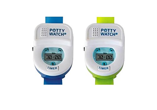 Potty Watch Potty Training Timer, 2 Pack - Blue/Green