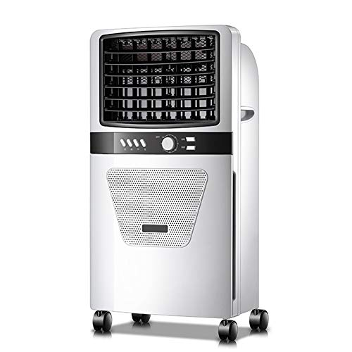 YX Xuan Yuan Portable Air Conditione - Single-Cooling Type air Cooler, Three-Speed Wind Speed, Negative ion Purification, 5L Water Tank, 7.5H Timing, Suitable for Home, Office Fan (Color : A) ()