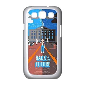 Back To The Future Samsung Galaxy S3 9 Cell Phone Case White 218y-732393
