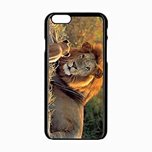 iPhone 6 Black Hardshell Case 4.7inch animals mustache Desin Images Protector Back Cover
