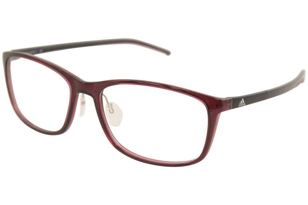 542cfba76d Amazon.com  Adidas Litefit Eyeglasses AF4710 AF47 10 6100 Berry Black  Optical Frame 56mm  Health   Personal Care