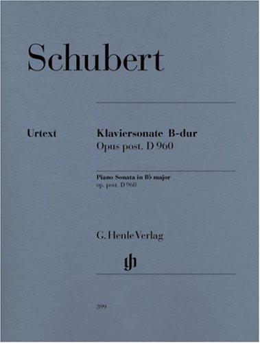 Klaviersonate B-dur D 960
