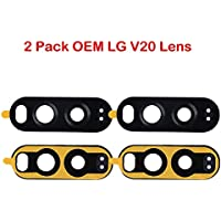 2 Pack Afeax OEM Rear Back Camera Lens Repair Cover Glass...